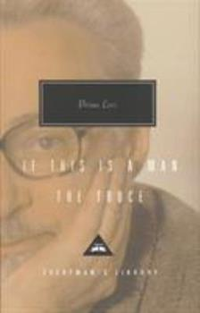 If This Is A Man / The Truce - Book  of the Auschwitz Trilogy
