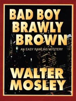 Paperback Bad Boy Brawly Brown [Large Print] Book