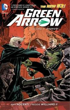 Green Arrow, Volume 3: Harrow - Book #7 of the Justice League 2011 Single Issues