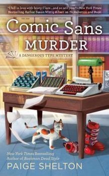 Comic Sans Murder 0425277275 Book Cover