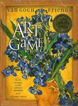 Paperback Van Gogh & Friends Art Game Book