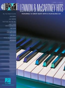 Lennon & McCartney Hits: Piano Duet Play-Along Volume 39 1423480430 Book Cover