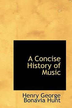 Paperback A Concise History of Music Book