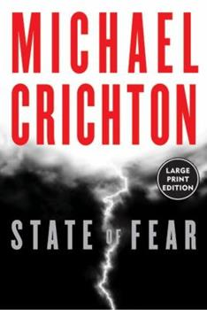 Paperback State of Fear [Large Print] Book