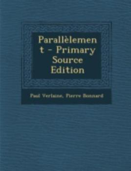 Paperback Parallelement - Primary Source Edition Book