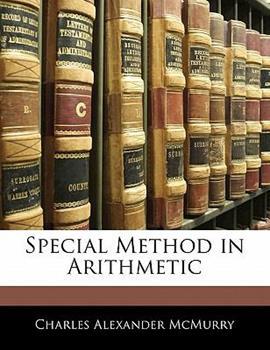 Paperback Special Method in Arithmetic Book