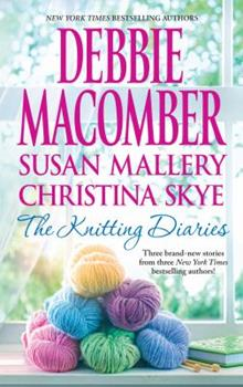 Hardcover The Knitting Diaries : The Twenty-First Wish; Coming Unravelled; Return to Summer Island [Large Print] Book