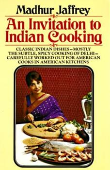 Paperback An Invitation to Indian Cooking Book
