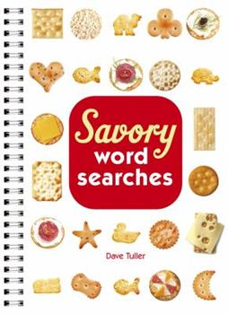 Savory Word Searches 1454900547 Book Cover