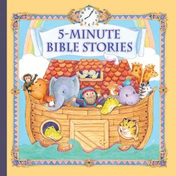 5-Minute Bible Stories - Book  of the 5-Minute Stories