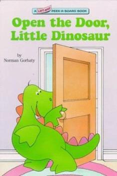 Board book Open the Door, Little Dinosaur (Lift-and-Peek-a-Brd Books(TM)) Book