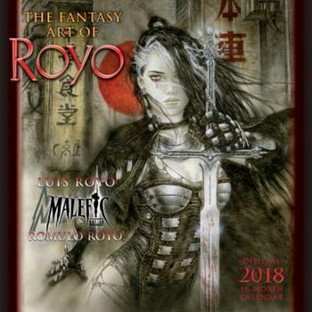 Fantasy Art of Royo 2018 Wall Calendar
