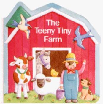 Board book The Teeny, Tiny Farm (Chunky Shape Books) Book