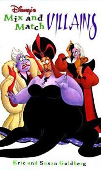 Hardcover Disney's Mix and Match Villains Book