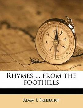 Paperback Rhymes from the Foothills Book