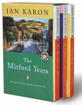 The Mitford Years Box Set, Volumes 1-3: At Home in Mitford, A Light in the Window, and These High, Green Hills - Book  of the Mitford Years