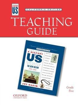 Teaching Guide to New Nation Grade 5 3e Hofus (California Edition)