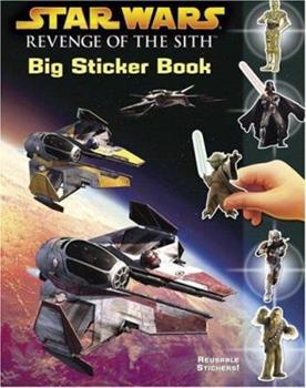 Paperback Star Wars, Episode III - Revenge of the Sith (Sticker Book) Book