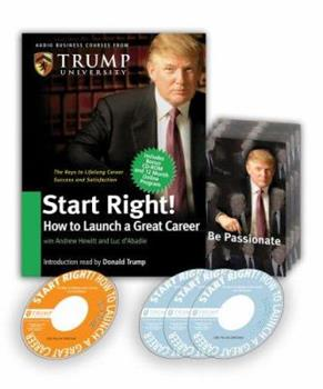 Start Right: How to Launch a Great Career (Audio Business Course) 0977421260 Book Cover