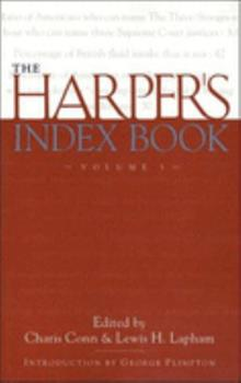 The Harper's Index Book 187995754X Book Cover