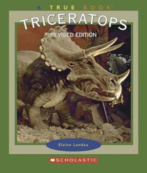 Paperback Triceratops (True Books) Book