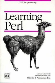 Paperback Learning Perl (Nutshell Handbooks) Book
