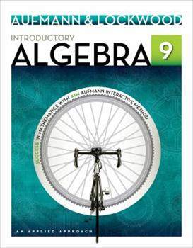Introductory Algebra: An Applied Approach (Student Solution Manual) 0618789324 Book Cover