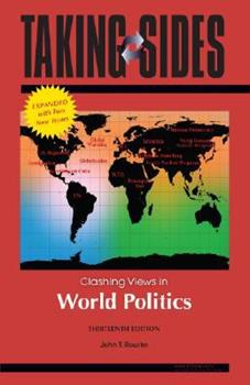 Paperback Taking Sides : Clashing Views in World Politics, Expanded Book