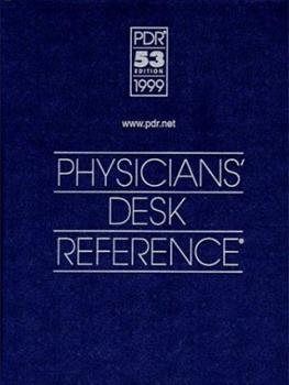 Hardcover 1999 Physicians' Desk Reference : (Library - Hospital Version) Book