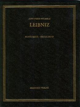Hardcover Gottfried Wilhelm Leibniz. S?mtliche Schriften und Briefe, BAND 1, Gottfried Wilhelm Leibniz. S?mtliche Schriften und Briefe (1668-1676) [German] Book