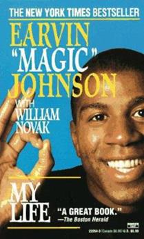 Magic Johnson: My Life 0670448052 Book Cover