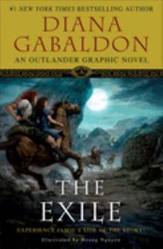 The Exile: An Outlander Graphic Novel 0385665881 Book Cover