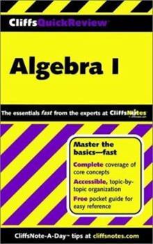 Paperback CliffsQuickReview Algebra I Book