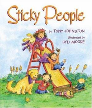 Hardcover Sticky People Book