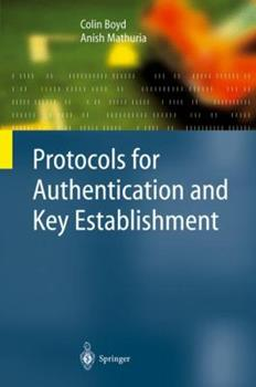 Hardcover Protocols for Authentication and Key Establishment Book