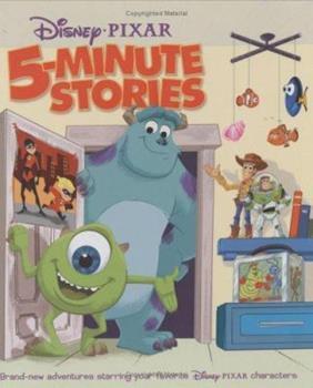 Disney/Pixar: 5-Minute Stories - Book  of the 5-Minute Stories
