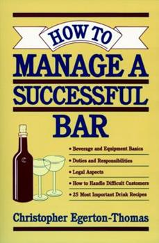 How to Manage a Successful Bar 0471304611 Book Cover