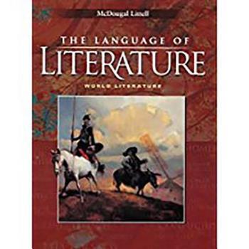 The Language of Literature: World Literature 0618601414 Book Cover