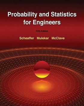 Probability and Statistics for Engineers (Statistics) 0534209645 Book Cover