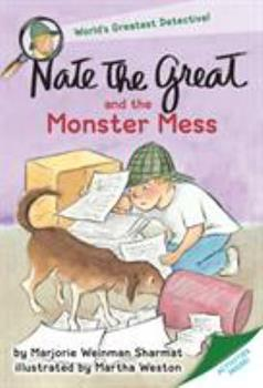 Nate the Great and the Monster Mess 0440416620 Book Cover