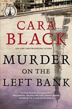 Paperback Murder on the Left Bank Book