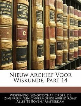 Paperback Nieuw Archief Voor Wiskunde, Part Book
