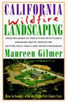 California Wildfire Landscaping 0878338640 Book Cover