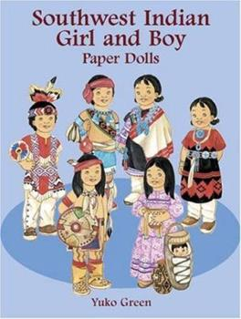Paperback Southwest Indian Girl and Boy Paper Dolls (Boys & Girls from Around the Globe) Book