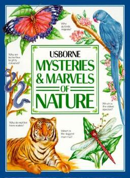 Hardcover Mysteries & Marvels of Nature (Usborne) Book