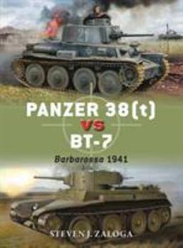 Panzer 38(t) vs BT-7: Barbarossa 1941 - Book #78 of the Duel