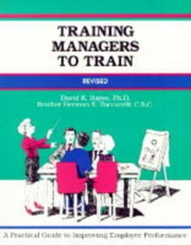 Training Managers to Train 0931961432 Book Cover