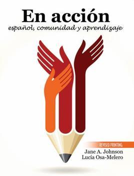 Paperback En accion: espanol, comunidad y aprendizaje Book