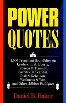 Power Quotes 0810394162 Book Cover