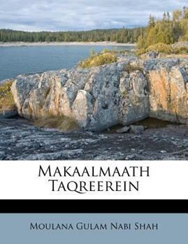 Paperback Makaalmaath Taqreerein Book
